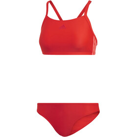 adidas Fit 3-Stripes Infinitex Bikinit Naiset, active red